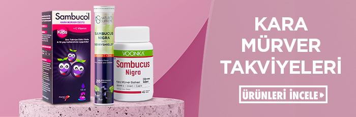 Kara mürver (sambucus) takviyeleri ile bağışıklığını destekle.