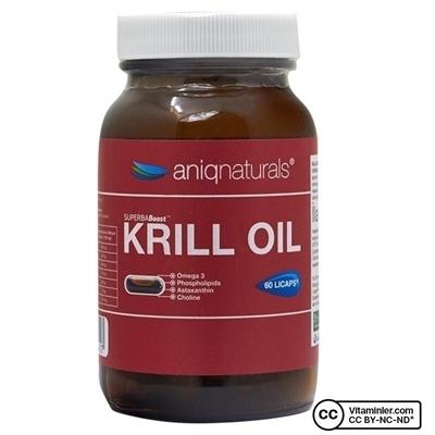 Aniqnaturals Superba Krill Oil Cam Şişe 60 Kapsül