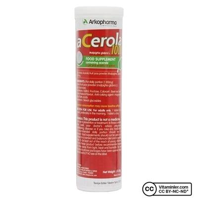 Arkopharma Acerola 1000 C Vitamini 15 Çiğneme Tableti