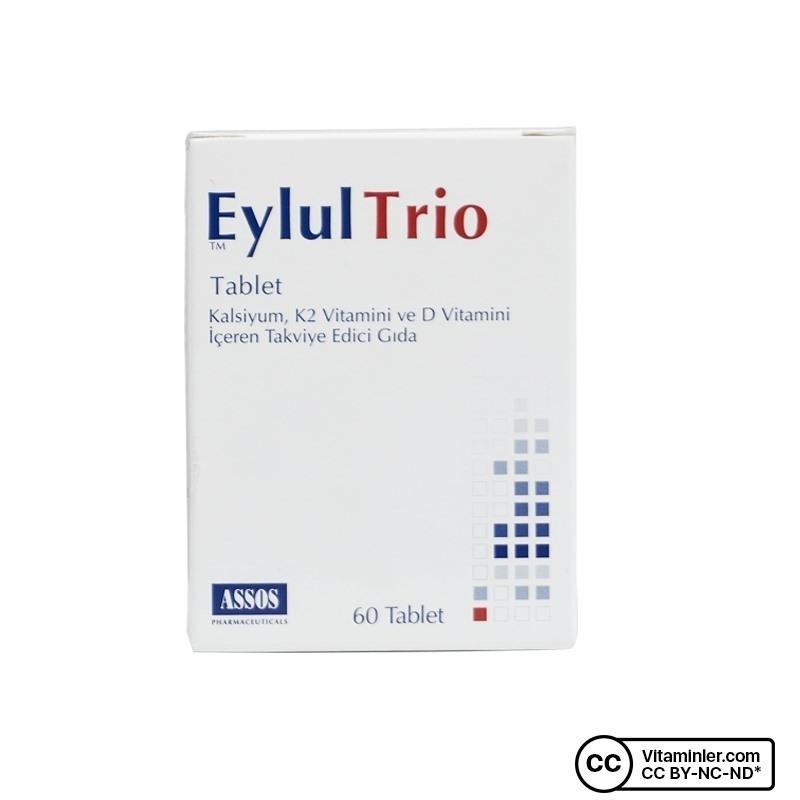 Assos Eylul Trio 60 Tablet