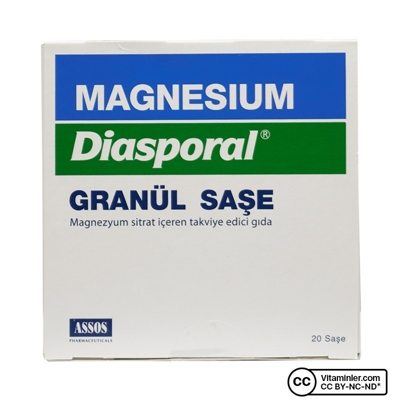 Assos Magnesium Diasporal Granül 20 Saşe