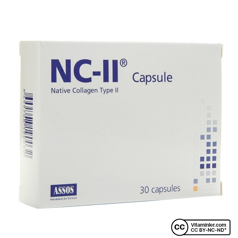 Assos NC-II Native Collagen Type II Kapsül 30 Kapsül