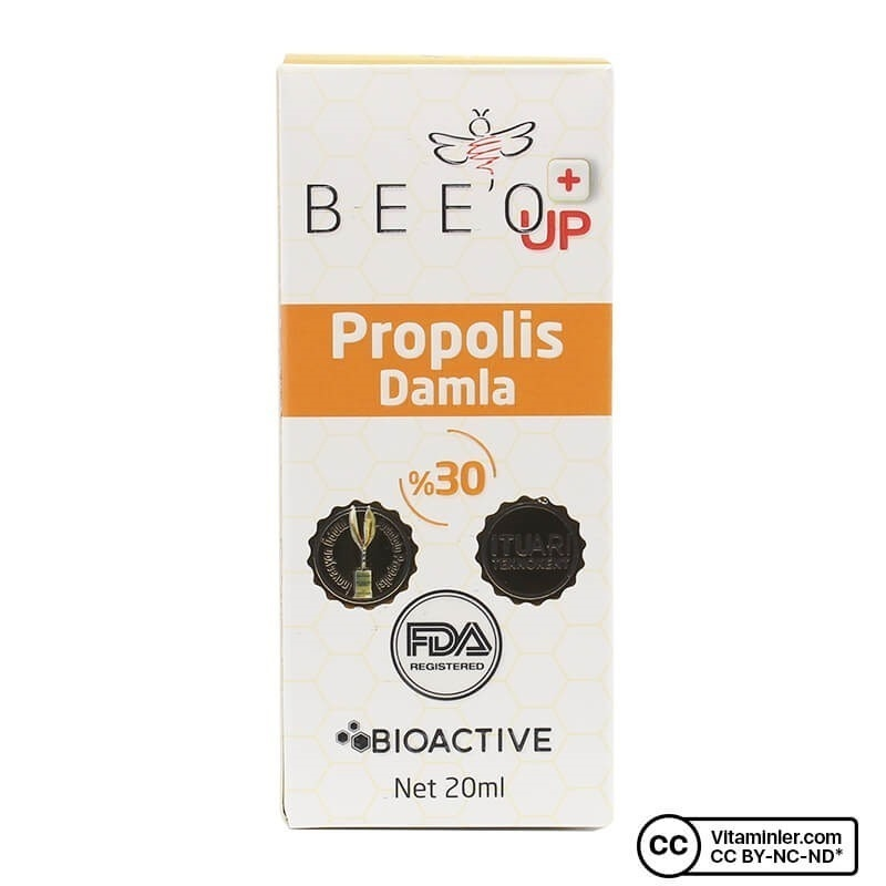 Bee'o UP Propolis Damla 20 mL