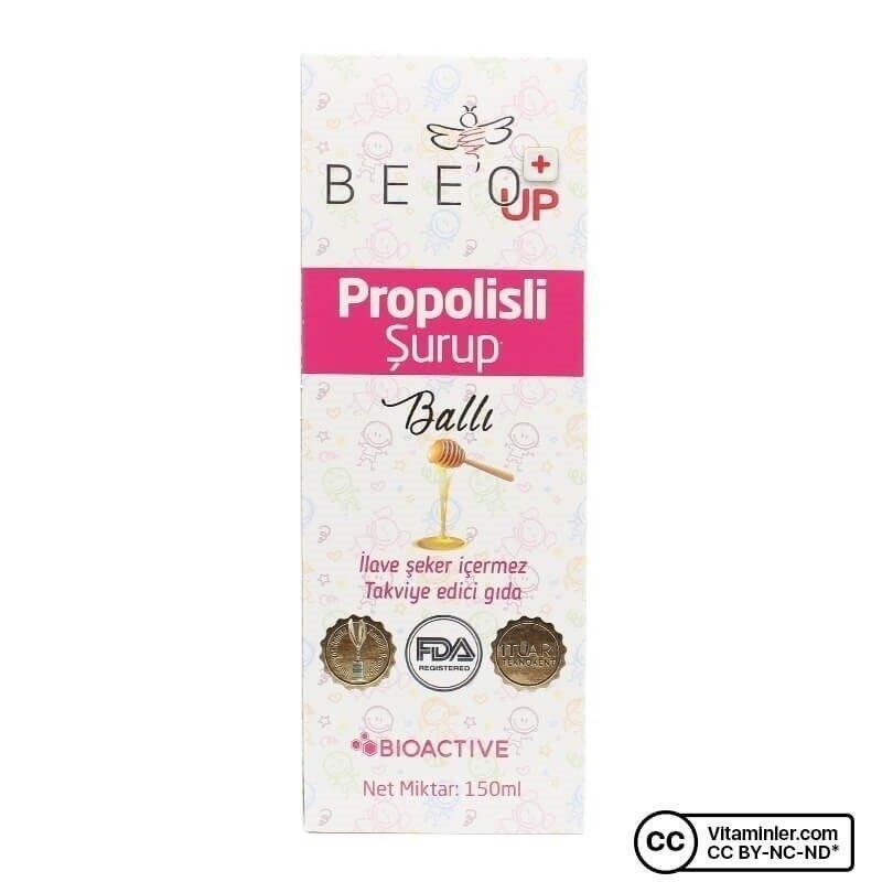 Bee'o UP Propolisli Şurup 150 mL