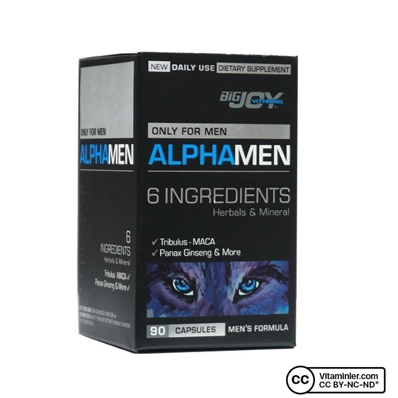 Bigjoy Vitamins Alphamen 90 Kapsül