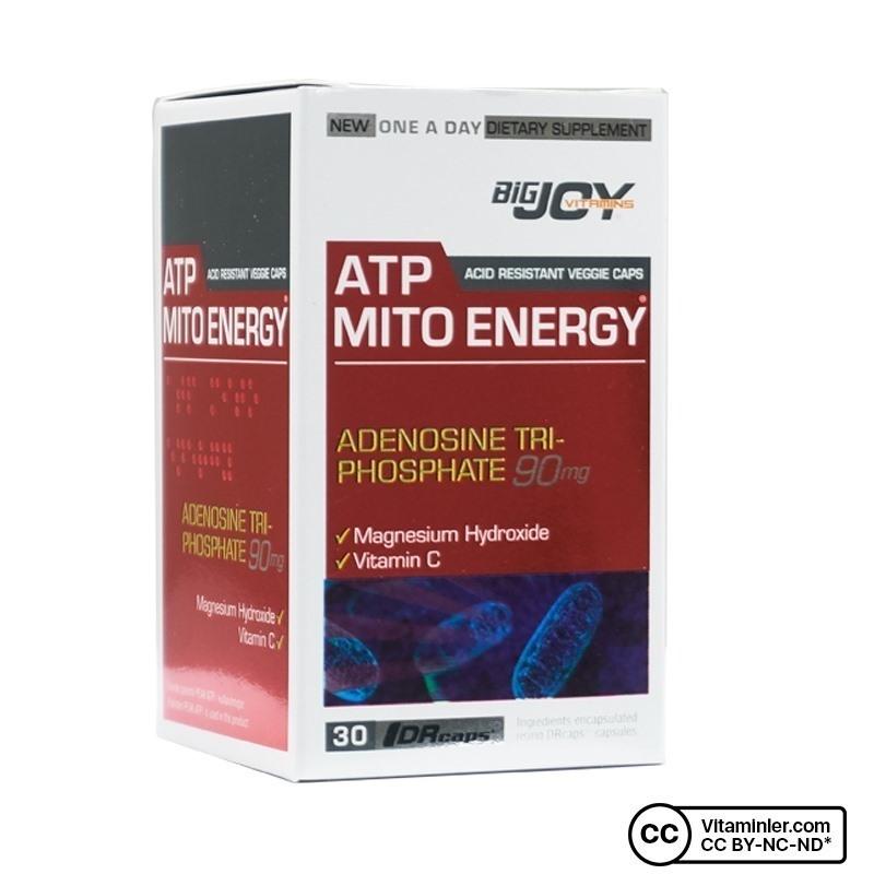 Bigjoy Vitamins ATP Mito Energy 30 Kapsül