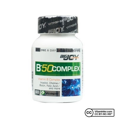 Big Joy Bigjoy Vitamins 50 Complex 60 Kapsül