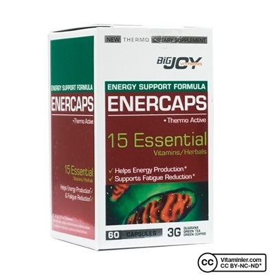 Big Joy Bigjoy Vitamins Enercaps 60 Kapsül