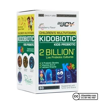 Big Joy Bigjoy Vitamins Kidobiotic 60 Çiğneme Tableti
