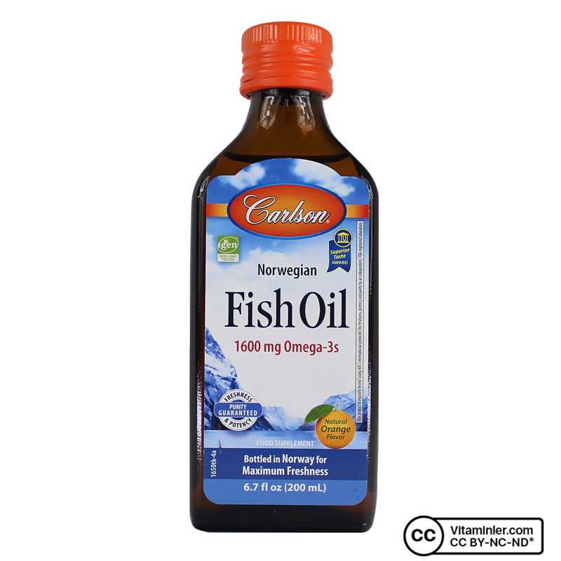 Carlson Omega 3 Balık Yağı Şurup 200 mL