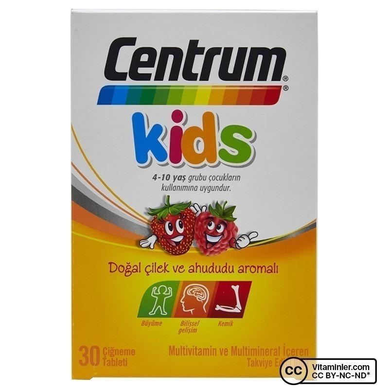 Centrum Kids Multivitamin 30 Çiğneme Tableti
