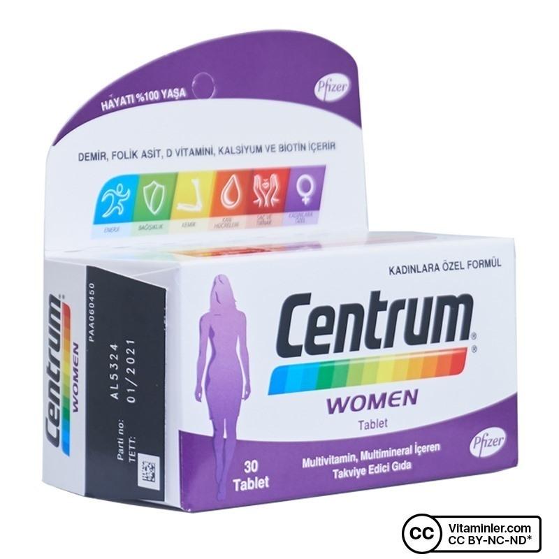 Centrum Women Multivitamin 30 Tablet