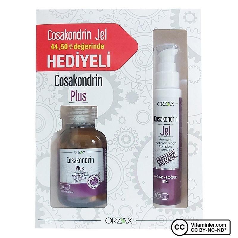 Cosakondrin Plus 60 Tablet + Cosakondrin Jel 100 mL Hediyeli