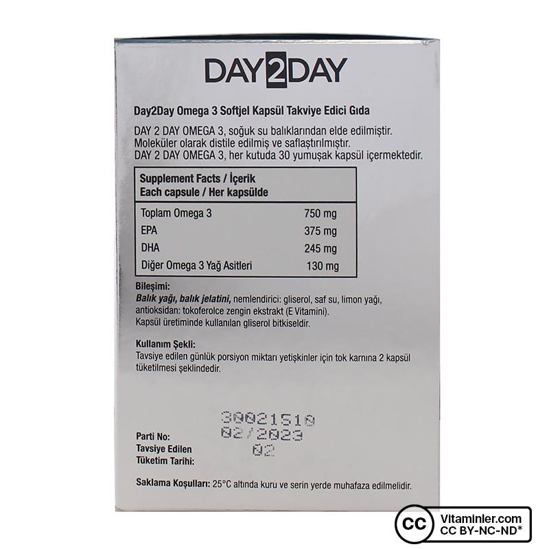 Day2Day Omega 3 1200 Mg 30 Kapsül