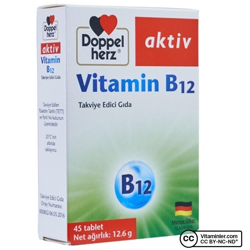 Doppelherz Aktiv Vitamin B12 45 Tablet