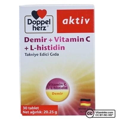 Doppelherz Demir + Vitamin C L-histidin 30 Tablet