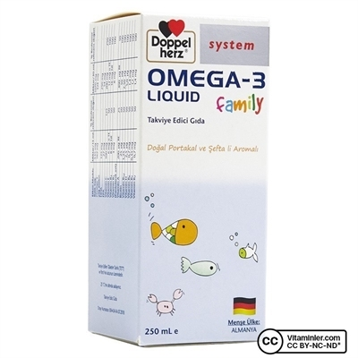 Doppelherz Omega-3 Liquid Family 250 mL