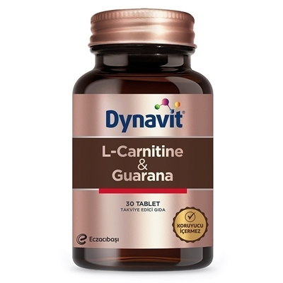 Dynavit L-Carnitine + Guarana 30 Tablet
