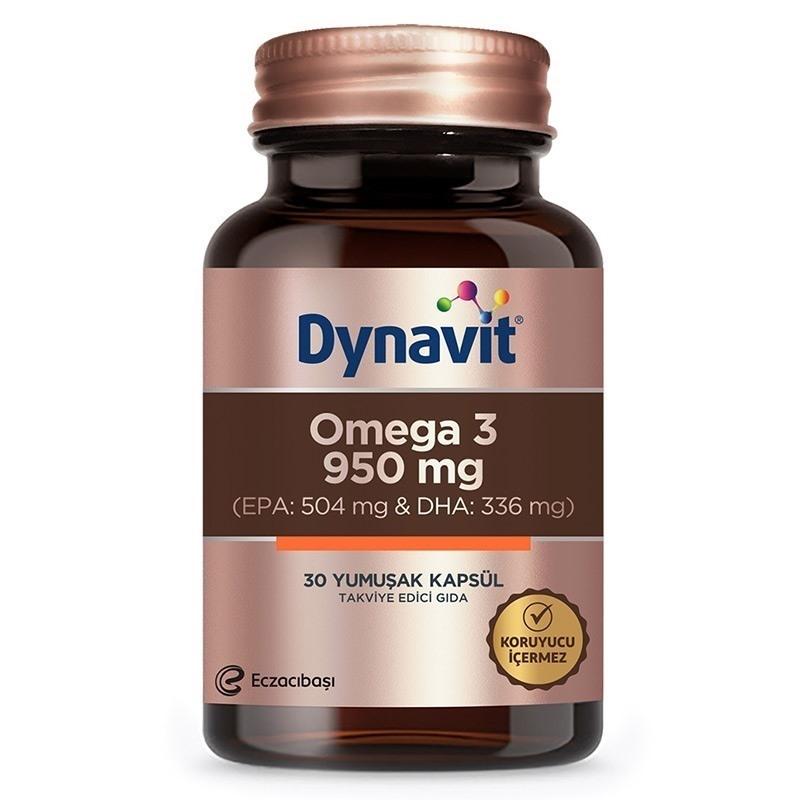 Dynavit Omega 3 950 Mg Balık Yağı 30 Kapsül