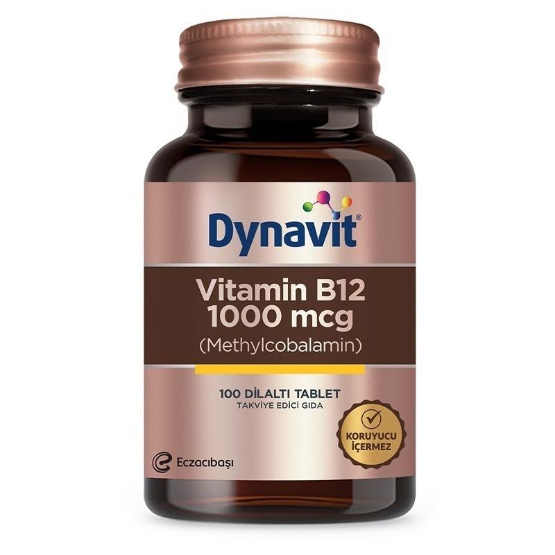 Dynavit Vitamin B12 1000 Mcg 100 Tablet