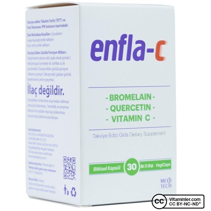Enfla-C 30 Kapsül