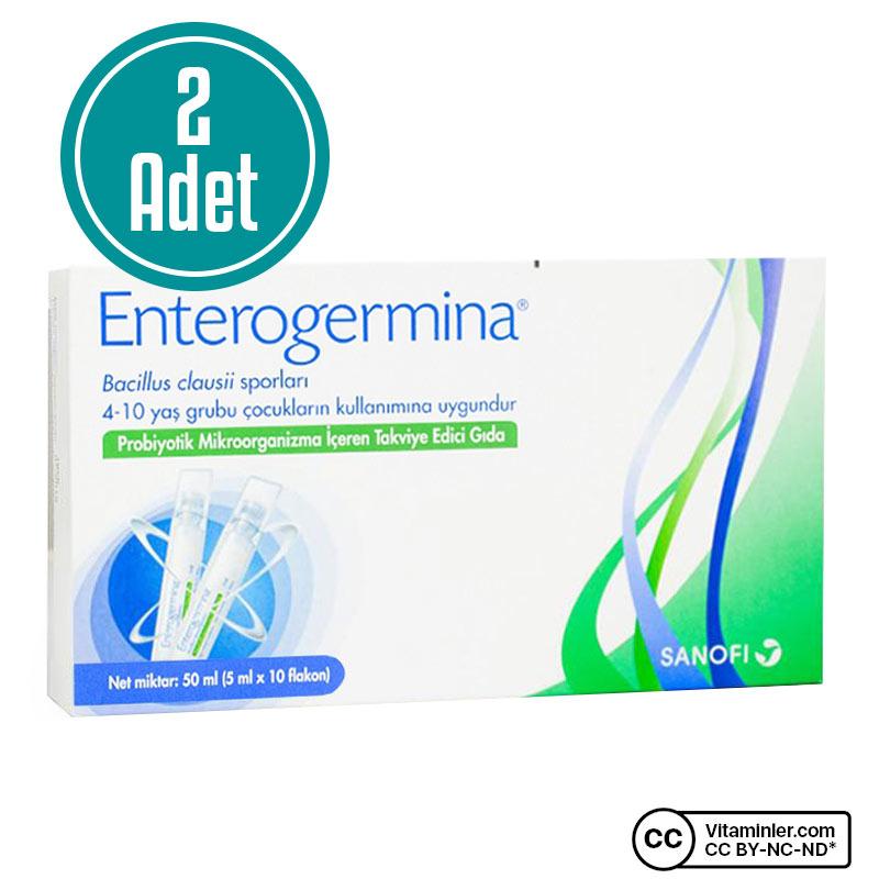 Enterogermina Çocuk 5 mL x 10 Flakon 2'li Özel Paket