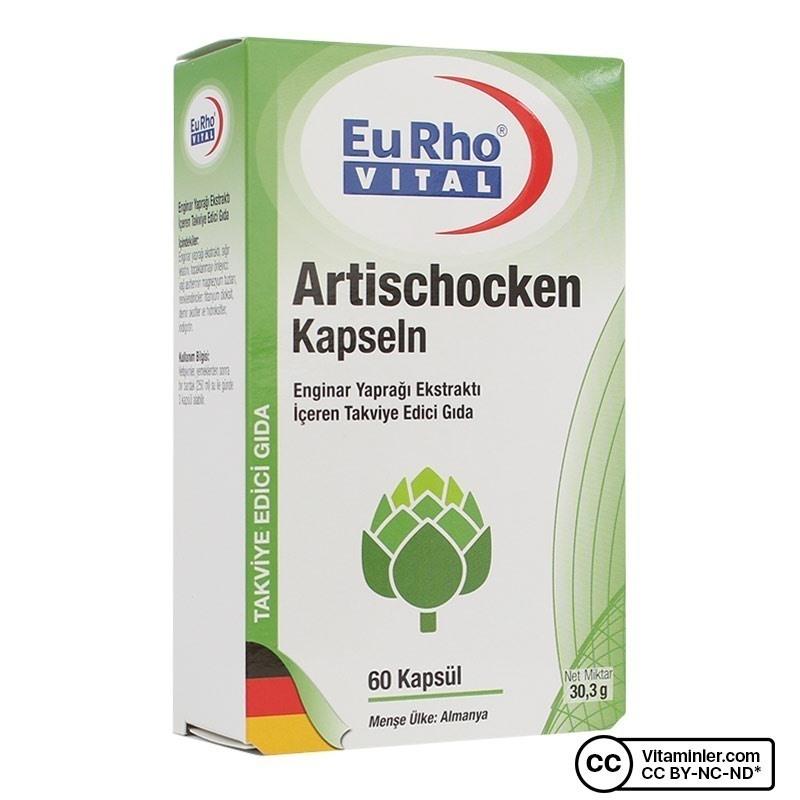 Eurho Vital Artischocken (Enginar) 60 Kapsül