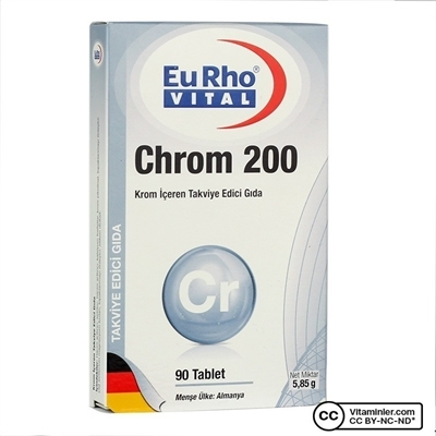 Eurho Vital Chrom 200 Mcg 90 Tablet