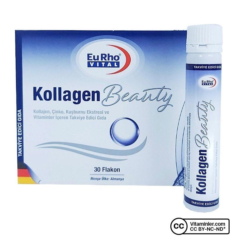 Eurho Vital Kollagen Beauty 30 Flakon