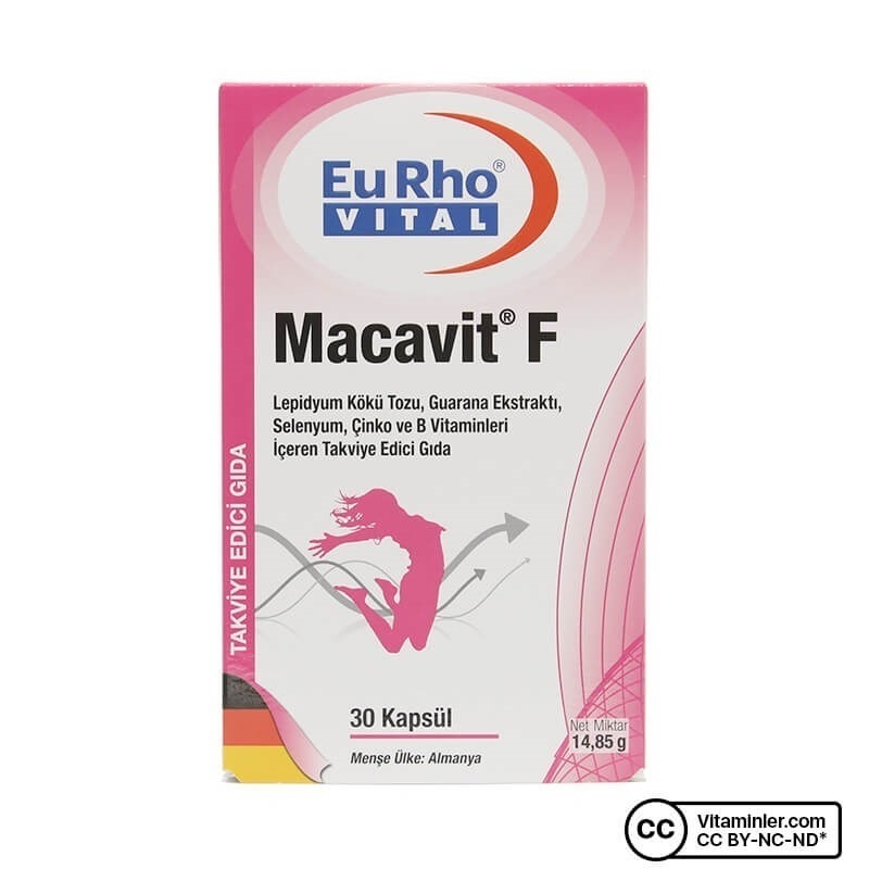 Eurho Vital Macavit F 30 Kapsül