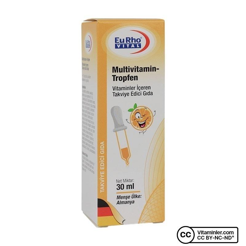 Eurho Vital Multivitamin Tropfen Damla 30 mL
