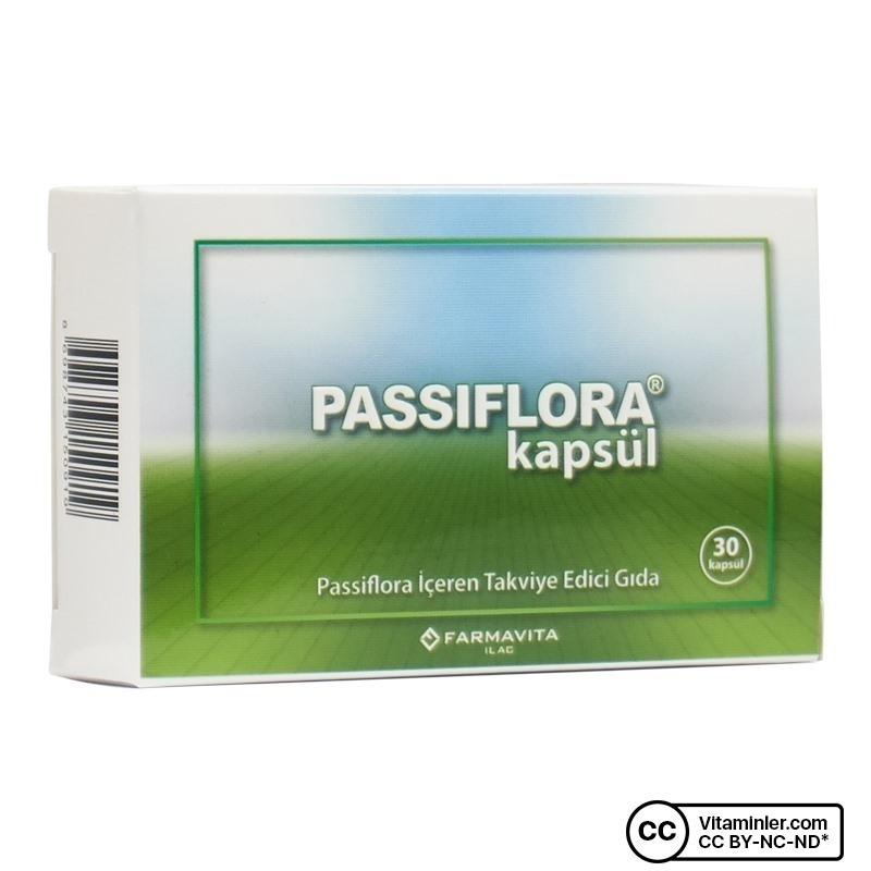 Farmavita Passiflora 30 Kapsül