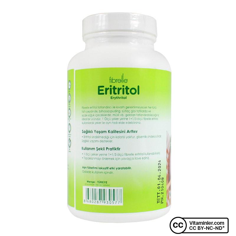 Fibrelle Eritritol 400 Gr