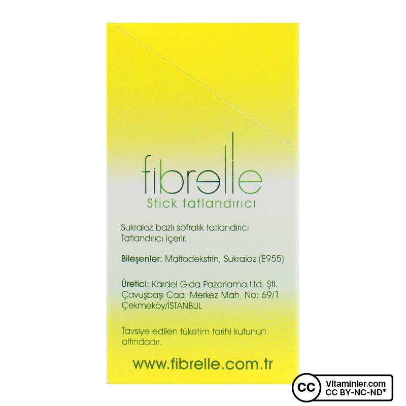Fibrelle Ultra Plus Tatlandırıcı 80 Saşe x 0.5 Gr