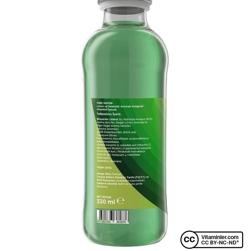 Free Collagen Water 330 mL 24 Adet