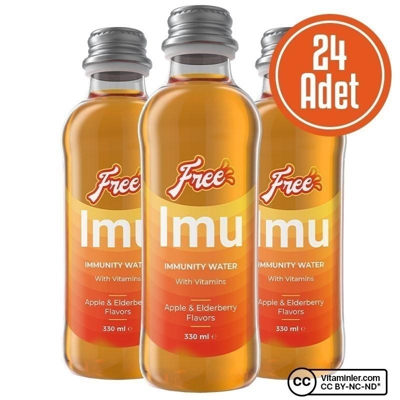 Free Immunity Water 330 mL 24 Adet