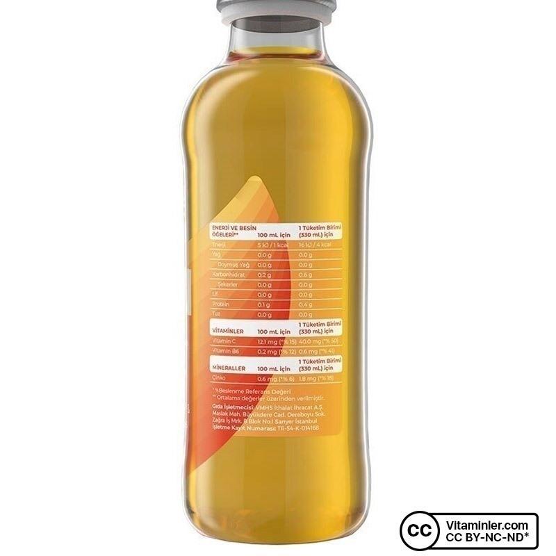 Free Immunity Water 330 mL 6 Adet
