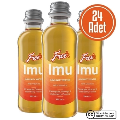 Free Imu Water 330 mL 24 Adet