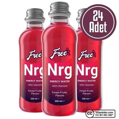 Free Nrg Water 330 mL 24 Adet