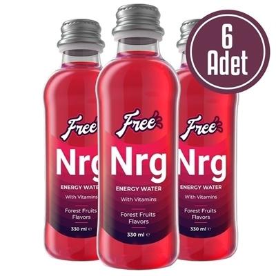 Free Nrg Water 330 mL 6 Adet