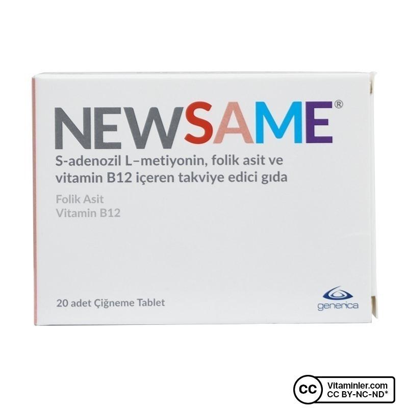 Generica New Same 20 Çiğnenebilir Tablet