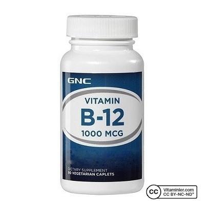 GNC B12 Vitamini 1000 Mcg 90 Tablet