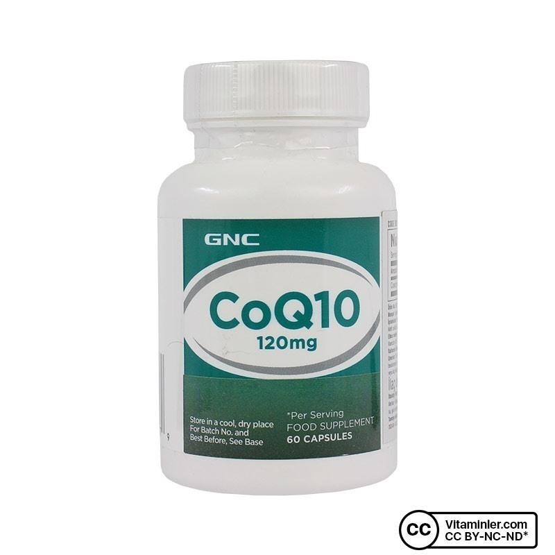 GNC CoQ10 120 Mg 60 Kapsül