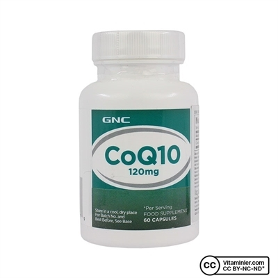 Gnc GNC CoQ10 120 Mg 60 Kapsül