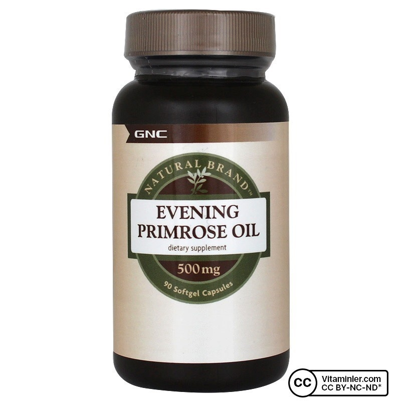 GNC Evening Primrose Oil 500 Mg 90 Kapsül
