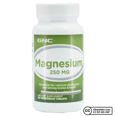 Gnc GNC Magnesium 250 Mg 90 Tablet