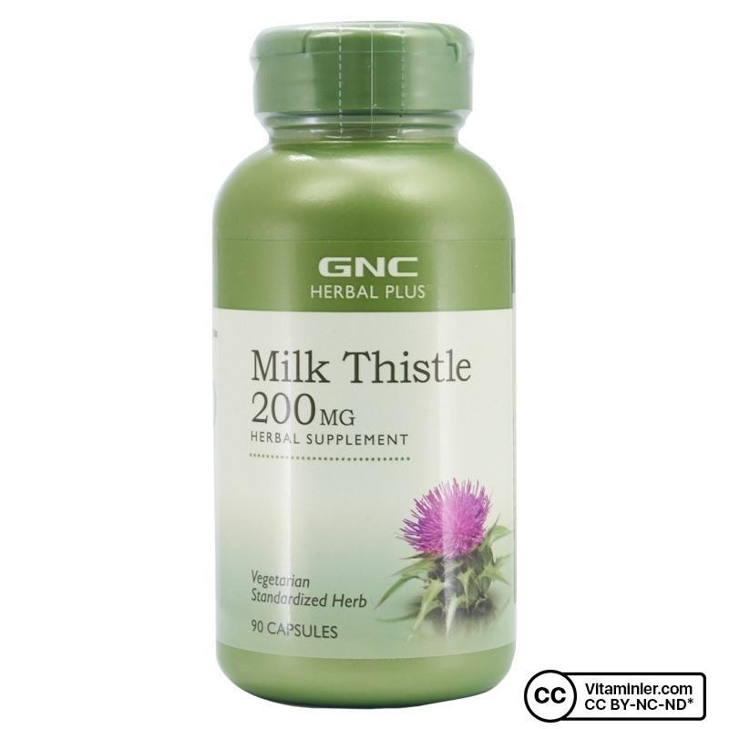 GNC Milk Thistle 200 Mg 90 Kapsül