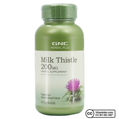 Gnc GNC Milk Thistle 200 Mg 90 Kapsül