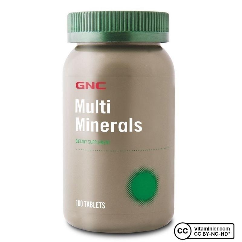 GNC Multi Minerals 100 Tablet