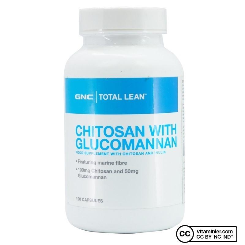 GNC Total Lean Chitosan With Glucomannan 120 Kapsül
